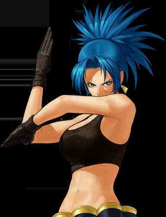 File:KOFXII-Leona-CharacterSelect.png