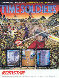 Time Soldiers arcade flyer