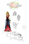 Kof 2003 rose concept art