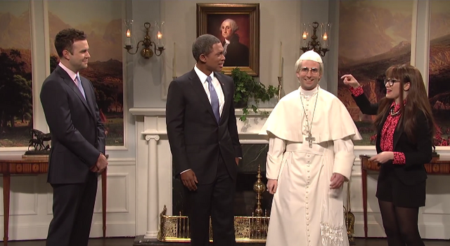 File:SNL Kyle Mooney - Pope Francis.png