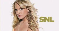 SNL Carrie Underwood