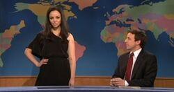 SNL Abby Elliott - Angelina Jolie