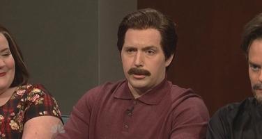 File:SNL Beck Bennett as Nick Offerman.jpg