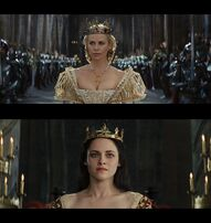 Queen Ravenna Vs Queen Snow White