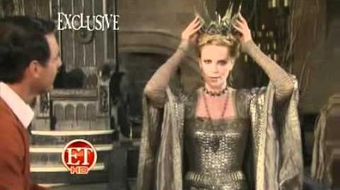 Snow White and the Huntsman BTS!