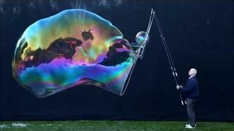 How To Blow Giant Bubbles Part 3