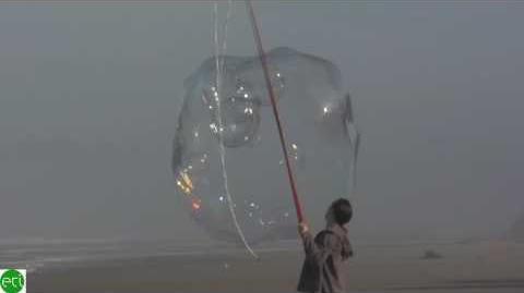 30 bubbles inside one giant bubble 720p