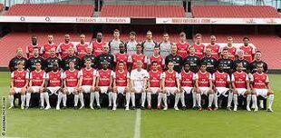 Arsenal Team Photo