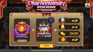 1 Year Package