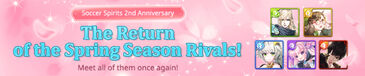 Return of the Spring Season Rivals banner