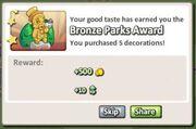 Bronze Park Award