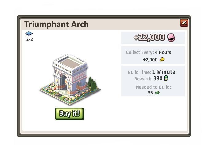 Triumphantarch
