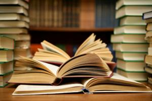 Pilhas of books