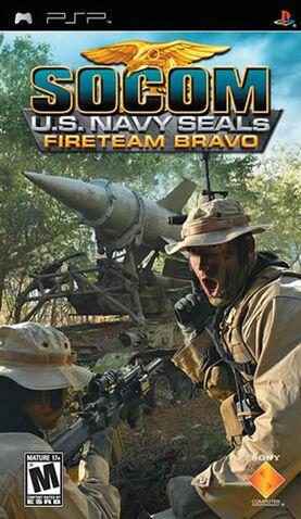 File:SOCOM FireTeam Bravo PSP North American Front Cover.jpg