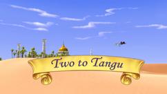 Two to Tangu title card