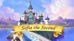 Sofia the Second title card