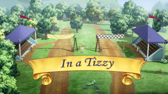 In a Tizzy title card