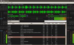 Mixxx 1.7.0-Linux GNOME