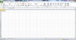 MS Excel-Screenshot