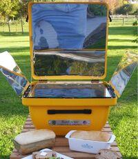 SunFocus hybrid cooker 2, 1-29-14