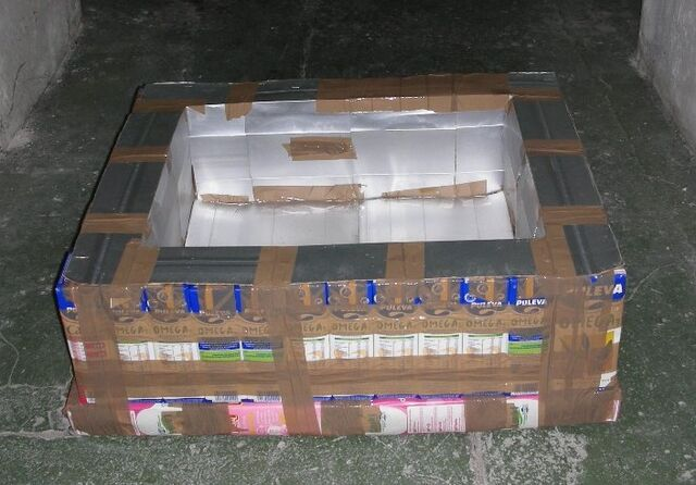 File:Tetra Brik Solar Box Cooker photo 1, 1-20-12.jpg
