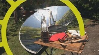 Solar cooker SOLARIO COOKER introduction from FOCALIS company