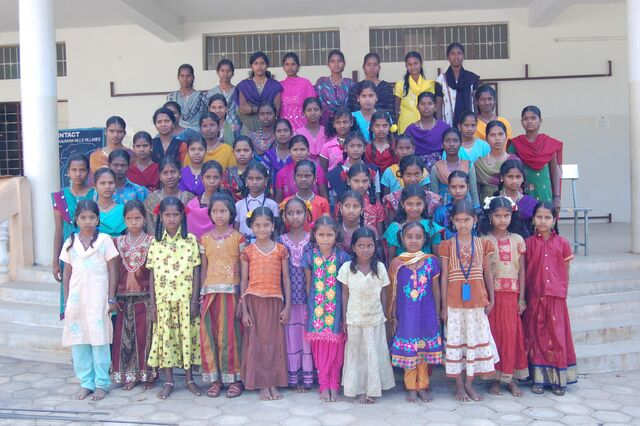 File:Intact School at Kalrayan Hills for tribal children.jpg