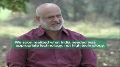 Shirdi - Solar Cooking for 100,000 - CNN