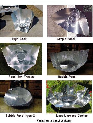 File:Solar-cooker-design-variations in panel types.jpg