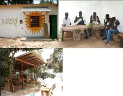 Solar Project Gambia bakery 2009