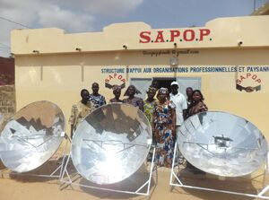 Sun and Ice workshop in Senegal, 8-20-14