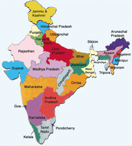 File:States of India map, 8-4-15.png