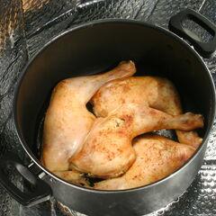 2) Cuisses de poulet 1,4 kg