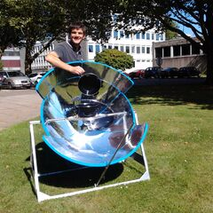 Testing modified SolarCooker ECO3