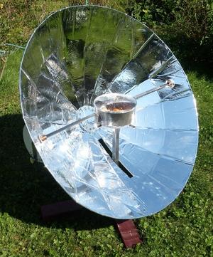 Hypar Solar Cooker, 1-13-16
