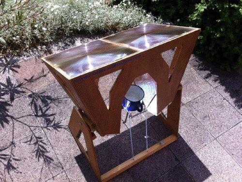 Mueller Solartechnik Fresnel test cooker, 1-2-13