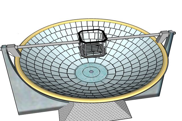 File:Parabolic cooker with mirrors.jpg