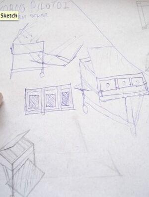 PLenoSol I early design sketches