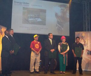 Energy Globe Award Shyam Nandwani 2009