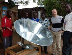 Voukana Solar Cooker