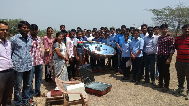 File:A Demonstration on Solar cooker performance.jpg
