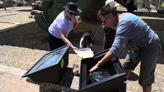 Sport Solar Oven Cooking with the Sun