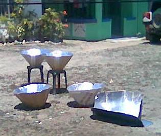 Solar Cookers in Cagayan de Oro Philippines 2008