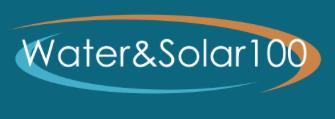 File:Water&Solar100 logo, 3-29-17.png