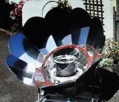 Solar Chef cooker, 5-11-15