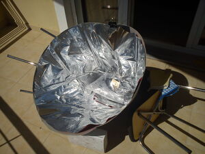 Conical Solar Cooker