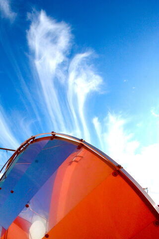 File:Cyrrus cloudy Sky above solar cooker.jpg