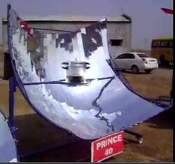 PRINCE - 40 parabolic cooker, 2-6-12