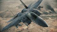 F-15 profile
