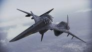ADF-01 FALKEN Infinity flyby 2